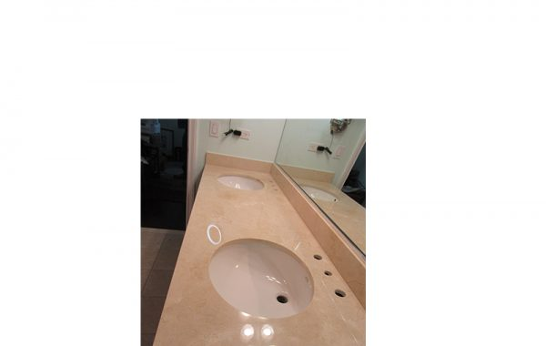 Polished Marble Vanity Honing | Chicago