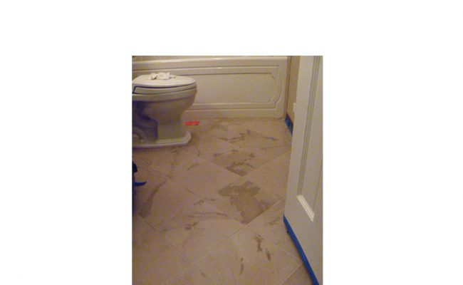 Powder room floor polishing | Lincoln-Park