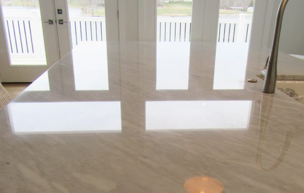 Marble Countertop Honed and Polished