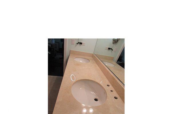Polished Marble Vanity Honing | Chicago