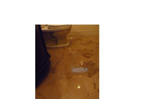 Powder room floor polishing | Lincoln Park